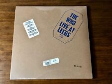 THE WHO ~ LIVE AT LEEDS ~ LIMITED EDITION NUMBERED COMPLETE WITH INSERTS SEALED!
