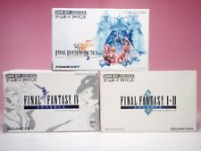 Used GAMEBOY ADVANCE FINAL FANTASY 3games SET FF 1.2 4 TACTICS  Ⅰ.Ⅱ Ⅳ GBA Japan