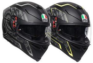 AGV K-5 S Tornado Motorcycle Helmet Full Face Helmet Crash Helmet Racing Sport
