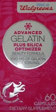 Gelatin & Silica Vitamin Supplement For Healthy Hair & Nails 60 Capsules