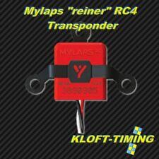 """Mylaps """"reiner"""" RC4 Transponder 3-Kabel #10R120 -- NEU -- inkl. Kunststoffhalter"""