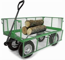 Very Large 'Deep Sided' Cage, Platform, Tough Heavy Duty, Outdoor Trolley OT1014