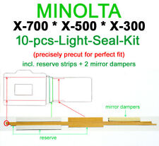 Light seal kit +mirror dampers Minolta PRECISELY PRECUT for X-700/500/300 *ONLY*