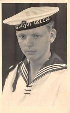 Lot169 germany sailor real photo stralsund social history navy marine stralsund