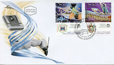 Israel 2018 FDC Israeli Achievements Robotics 2v Cover Cars Technology Stamps