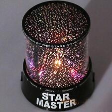 Romantic LED Starry Night Sky Projector Lamp Star Light Master Shinning Beauty