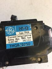 General Electric GE THQB32050 3p 50a 120/240v Circuit Breaker Bolt-On