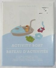 POTTERY BARN KIDS ACTIVITY BOAT SET Plan Toys Rare >NEW< Ages 3+