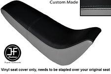 Black & Grey Automotive Vinyle Personnalisé Pour Kinroad XT 50 GY Double Housse De Siège uniquement