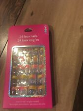 Claire's 24 faux nails for girls