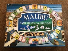 Malibu Game Of Fame And Fortune Board game NEW by Robert Feinberg Fun Party (H2)