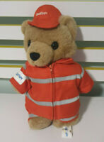 Careflight Bear  RESCUE ORANGE OUTFIT Teddy Bear Plush Toy 32cm Tall!