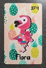 Flora Artsy PVC Amiibo Card - Animal Crossing