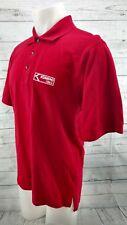 Kumho Tires Polo Golf Shirt Mens Medium Red