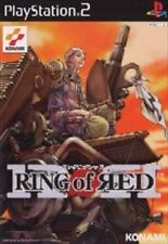 Used PS2 KONAMI Ring of Red SONY PLAYSTATION JAPAN IMPORT