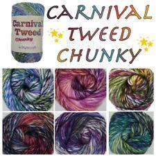 Stylecraft CARNIVAL TWEED CHUNKY Knitting Crochet Soft Acrylic Wool Yarn 100g