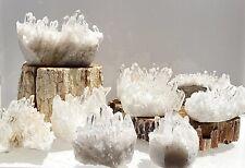 Wholesale Lot 2 Lbs Clear Quartz Lemurian Cluster Natural Healing Energy