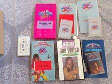 Star Licks VHS & Cassette lot -  Hendrix Joe Walsh Clapton Guitar Tricks