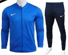 Nike Mens Full Tracksuit Zip Jacket Bottoms Pants Football Training Academy 1269 M Blue