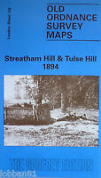 Old Ordnance Survey Maps Streatham Hill & Tulse Hill London 1894 Godfrey Edition