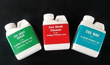 Unique Products Cue Shaft Cleaner - Cue Shaft Sealer & Cue Wax For Pool Shafts