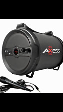 "Axess 1040 Outdoor Active HIFI 6"" Bluetooth Speaker with Microphone FM/TF/USB"