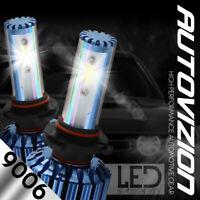 9006 HB4 LED headlight Conversion Kit Cree 60W 7600LM bulbs Pair White 6000K