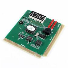 PC Motherboard Diagnostic Card 4-Digit PCI ISA POST Code Analyzer