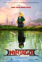 LEGO NINJAGO MOVIE original ds 27x40 movie poster