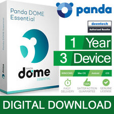 Panda Dome Essential 2020 (3PCs/1Year) Antivirus Pro Genuine Authentic License