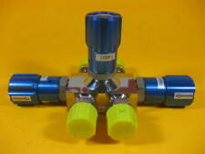 "Flowlink Valve 4-Way ⅞"" Tube Size ⅝"" -- Used --"