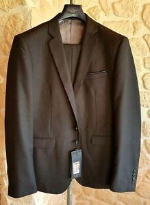 Costume noir neuf marque Pascal Morabito taille 56/48 étiqueté à 249€ (mer)