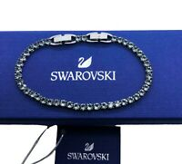 New Authentic Swarovski Sparkle Crystal Tennis Deluxe Round  Bracelet  5514655