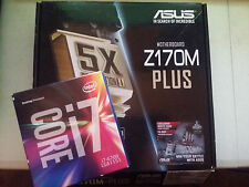 ASUS Z170M-PLUS DDR4 LGA 1151 Motherboard / Intel Core i7-6700 Combo