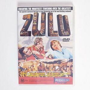 Zulu DVD Movie - Free Post Region 4 AUS Action War
