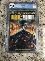 Tales from the dark multiverse Batman Knightfall 1, CGC 9.8 with certificate#104