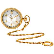 Tissot Silver Lepine Gold-tone Pocket Watch T82.4.550.32