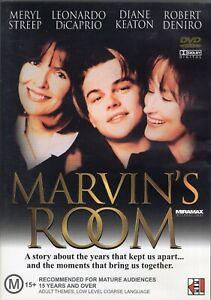 MARVIN'S ROOM starring Leonardo Di Caprio (DVD, 2003) - LIKE NEW!!!