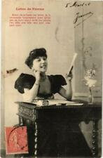 CPA Lettre de femme. A. BERGERET (674828)