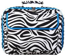 Zebra 15 inch Laptop Case Briefcase Womens Work School Portfolio Messenger Bag