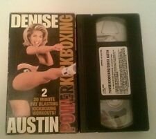 Denise Austin - Power Kickboxing Workout (VHS, 1999) TESTED