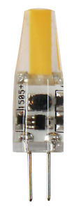 1pc/5pc/10pc 2W/3W G4 LED COB 12V Bi-Pin Light Bulb 3000K Warm White IP65 rated