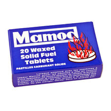 Genuine Mamod Steam Engine Waxed Solid Fuel Tablets Box of 20 - Brand New In Box