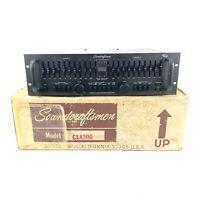 Vintage Soundcraftsmen CX4200 Preamplifier Equalizer Tested Working Box *Read*