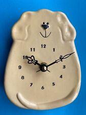 Yellow Dog - Wall Clock