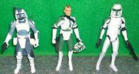 Star Wars Clone Wars Commander 41st GREE + 104th Wolffe + 41st Clone Trooper