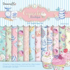 "Dovecraft-Cupcake Boutique-FULL PACK -72 fogli di acido 6x6"" - Free"