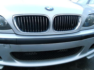 BMW E46 Leiste Stoßstange ohne Nummernschildhalter M-Paket 3er