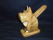 Nutcracker Schnauzer Wood Hand Carved Germany NEW