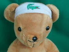 LACOSTE PARFUMES TEDDY BEAR WRIST HEAD BAND IZOD LOVEY PLUSH CLASSIC LOOK